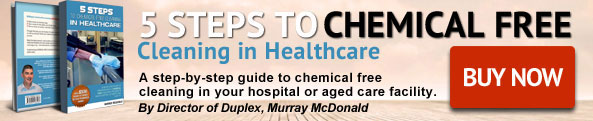 Visit 5 Steps to Chemical Free Cleaning in Healthcare Frontpage Banner