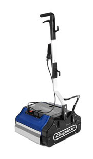 Duplex steam scrubber floor cleaner
