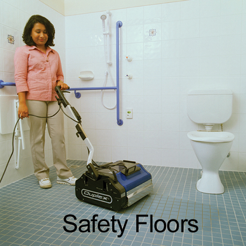 Safety Floor Cleaning