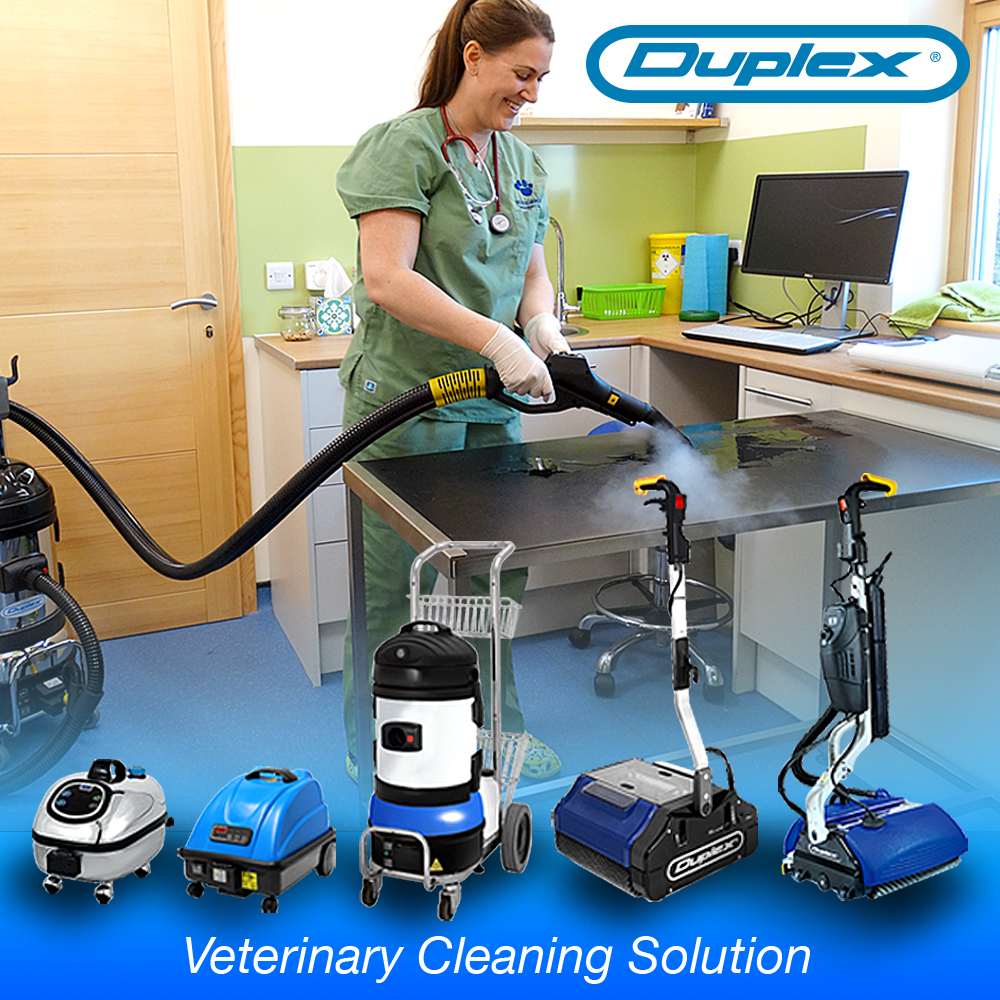 Duplex Veterinary Clinic Steam Cleaning Mobile Banner