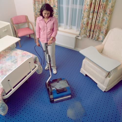 commercial cleaning equipment for use in Aged Care