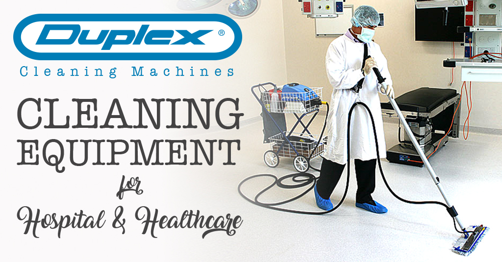 Cleaning equipment for hospital and healthcare