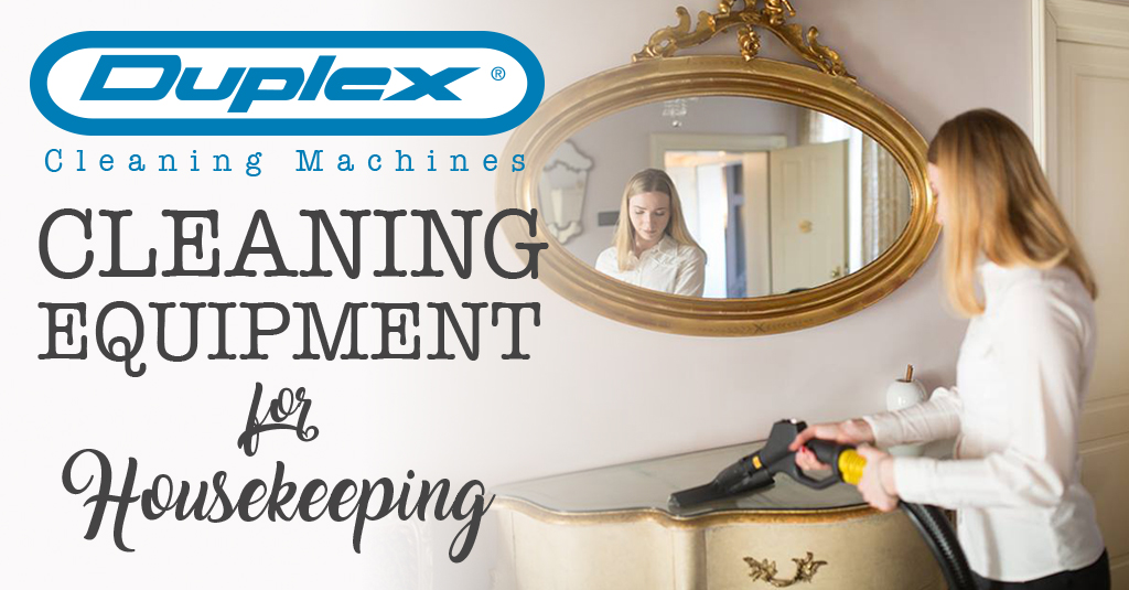Cleaning equipment for housekeeping