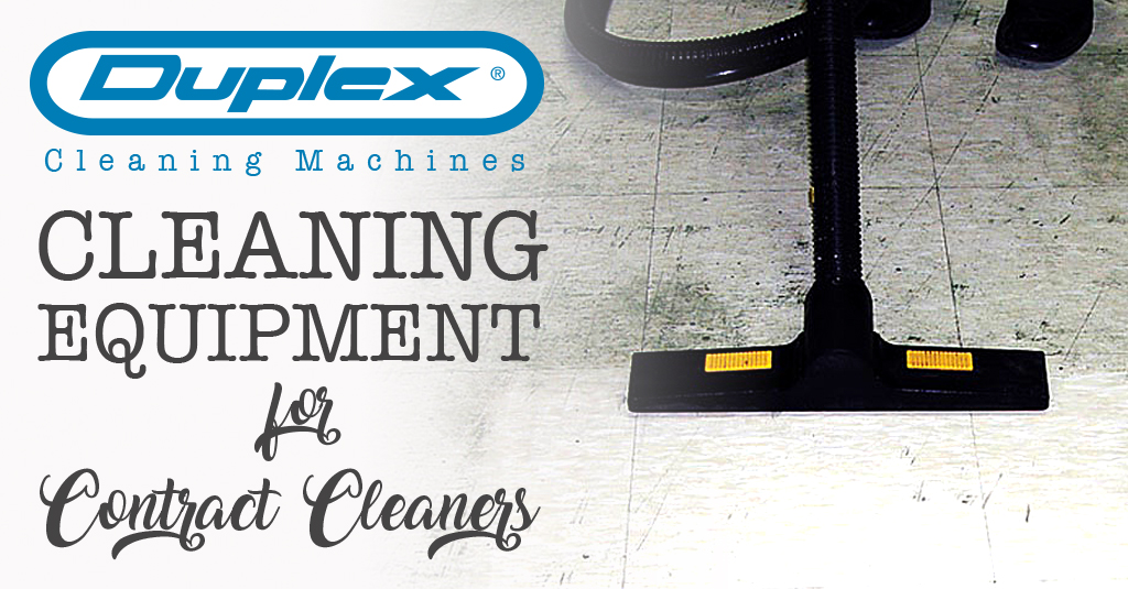 Cleaning Equipment for Contract Cleaners