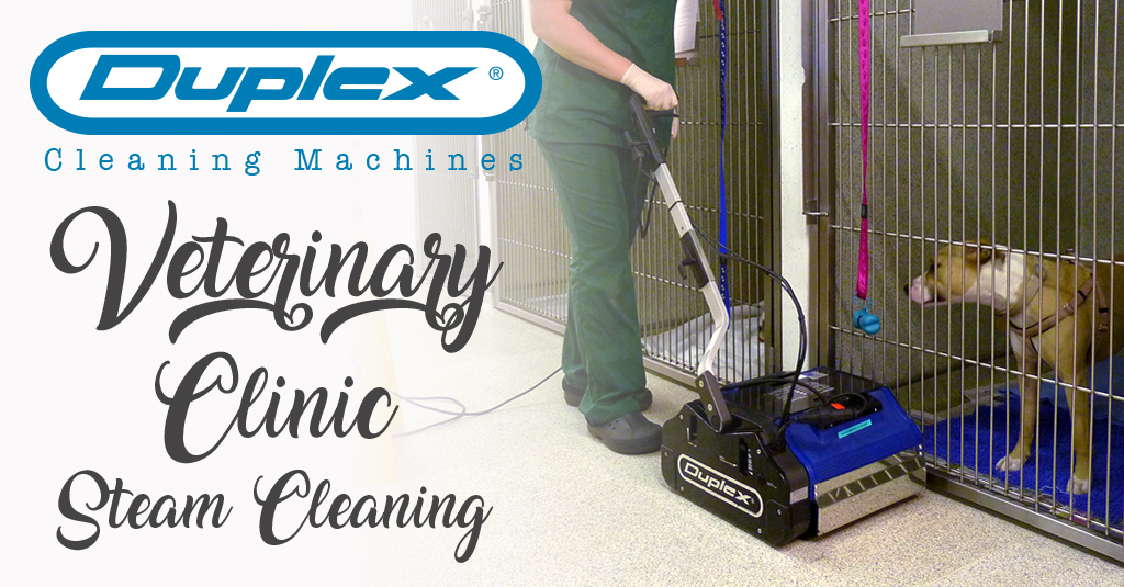 Duplex Veterinary Clinic Steam Cleaning Banner