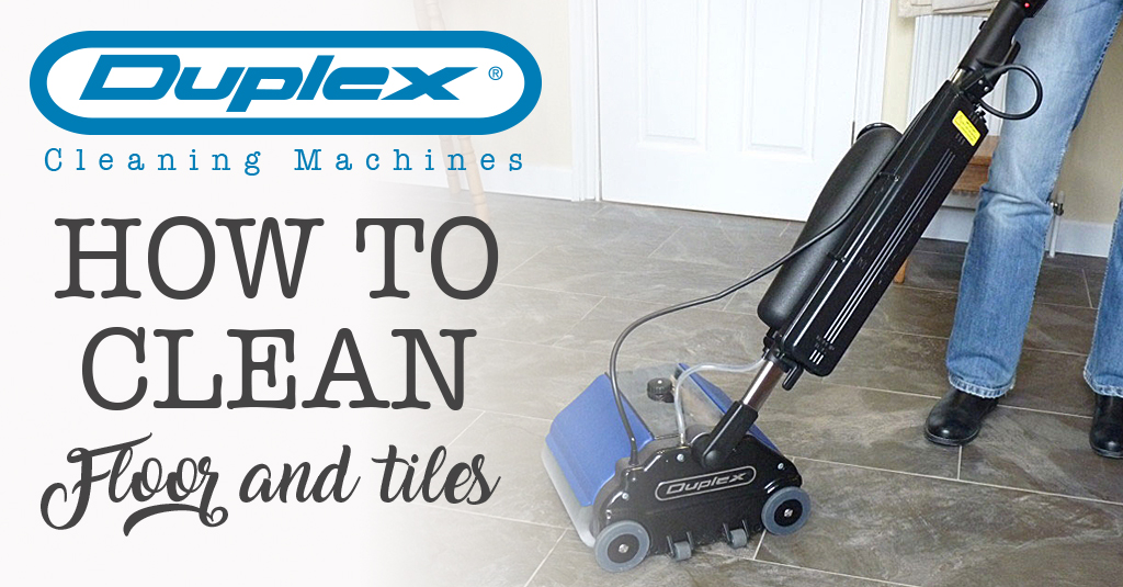 How to clean floor and tiles