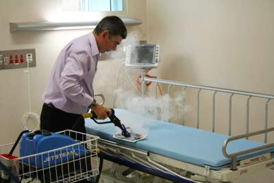 Manage the risk of infectious disease outbreaks with high powered steam vapour cleaning machines