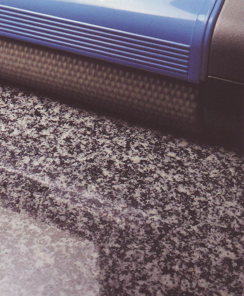 clean natural stone floor surfaces with our steam vapour and wet vacuum cleaning machines