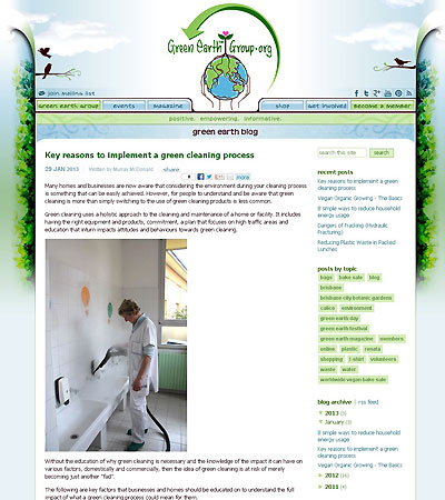 Key Reasons to Implement a Green Cleaning Process