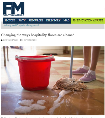 Changing the ways for the hospitality floors to be cleaned