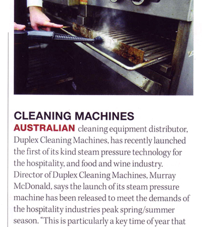 Cleaning Machines in Food Service