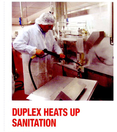 Duplex Heats Up Sanitation