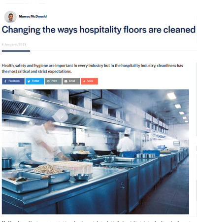 Changing the ways hospitality floor are cleaned