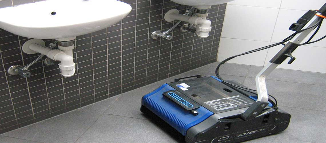 sanitize heavily used bathrooms in bars and pubs
