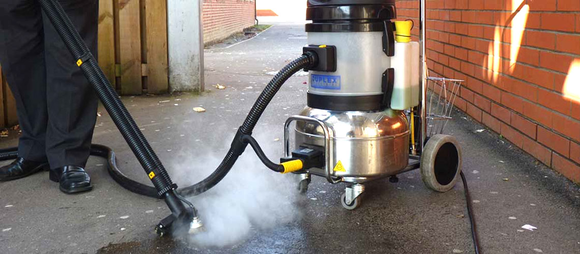 complete cleaning systems to manage grime removal in caravan park public areas