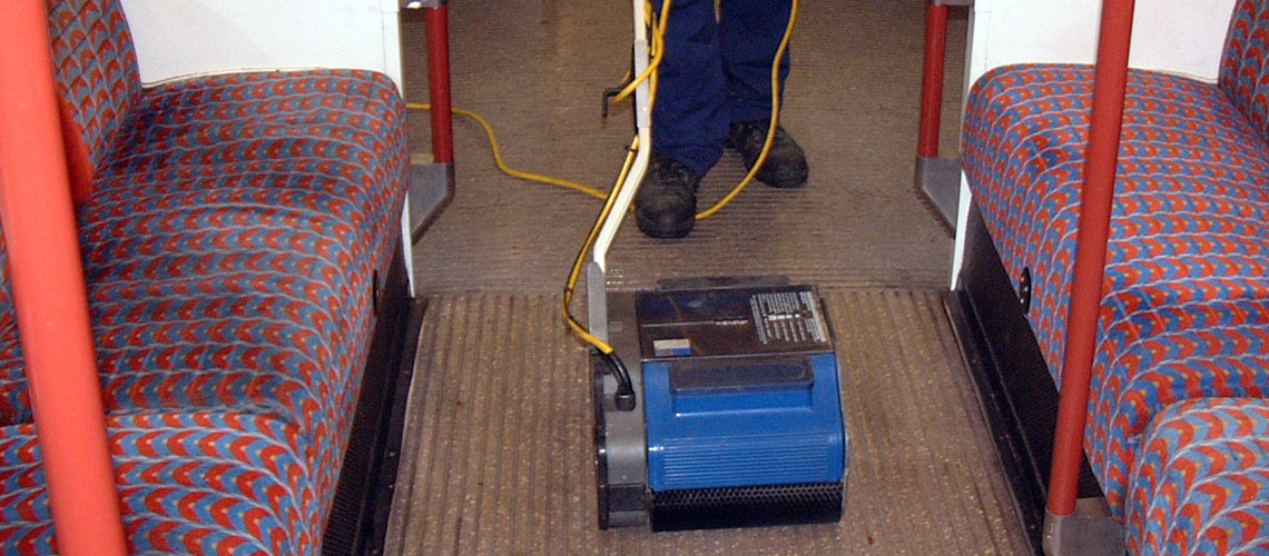 cleaning machinery for use by niche contractors