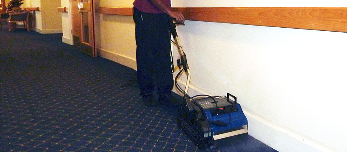 high powered cleaning equipment for use in retirement villages
