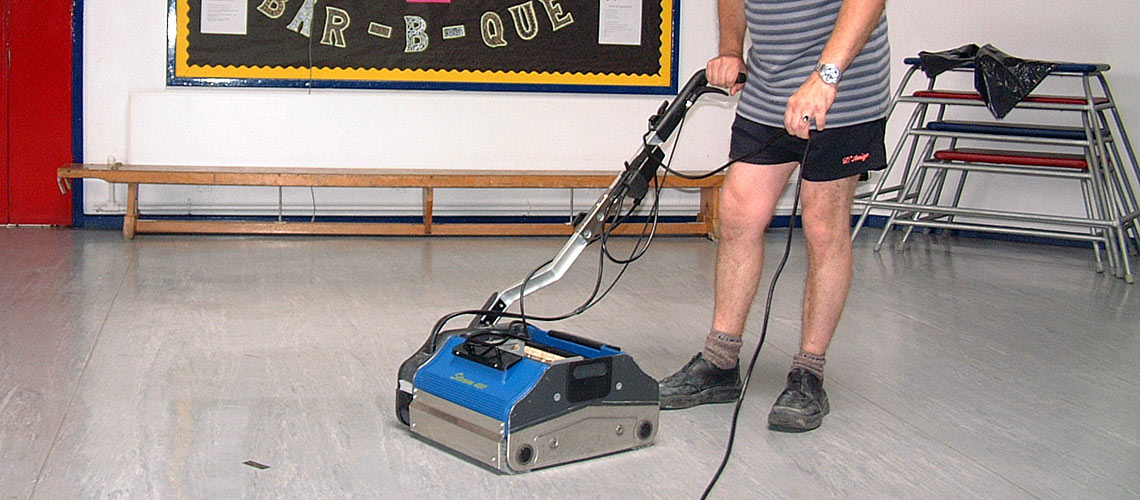equipment for cleaning contractors who santize educational institutions