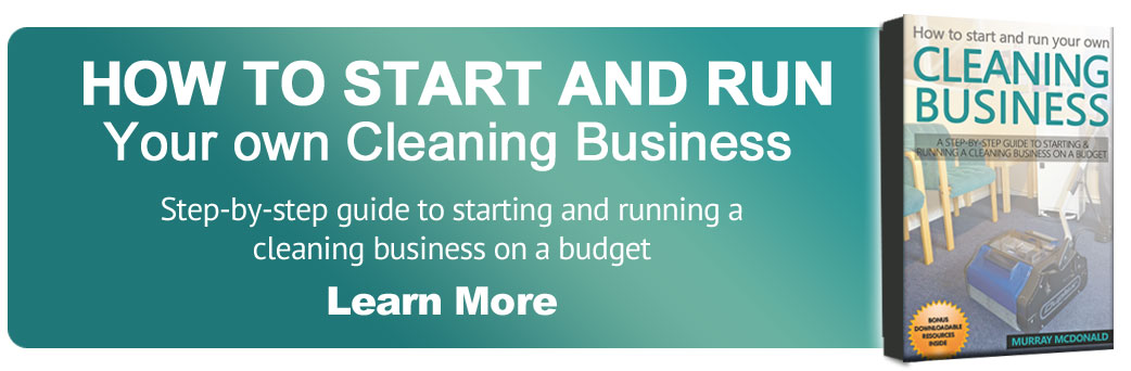 How to start and run cleaning business banner