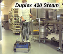 Duplex 420 vacuum cleaner for floors and expansive surfaces