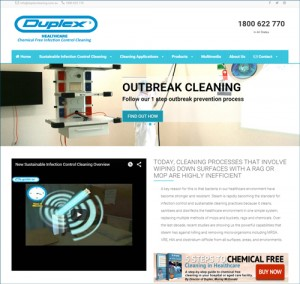 Visit Duplex Healthcare infection control website