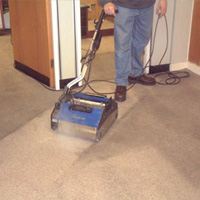 sanitize carpets in high traffic areas quickly with our professional cleaning equipment for contractors