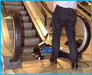 start a cleaning business specialising in escalator sanitising