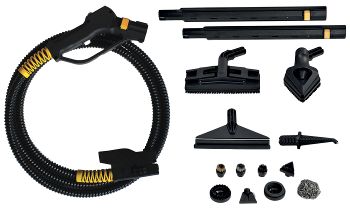 set of july kit steam cleaning accessories