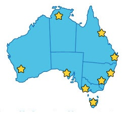 Duplex offices throughout all states in Australia