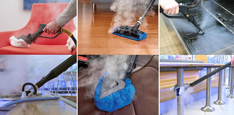 Steam Cleaning Demo