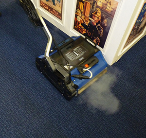 floor cleaning machine for carpets