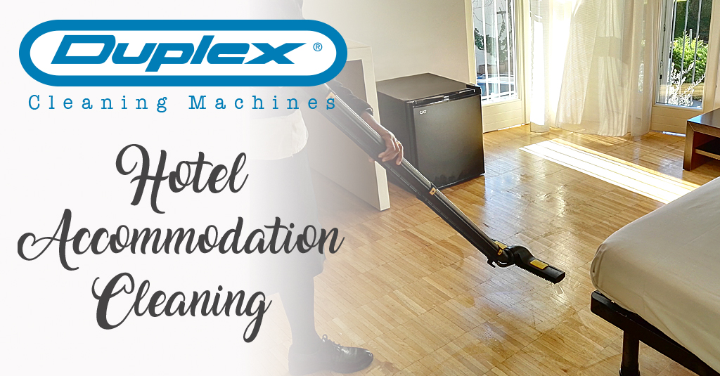 hotel accommodation cleaning solutions with steam