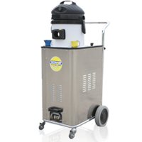 the steambox is a powerful dry steam vapour cleaner to use within yards, auto-dealerships or depots for detailing and cleaning car alloy wheels and mag rims