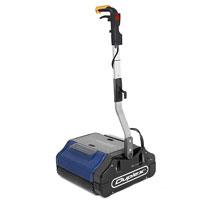 Duplex 420 Roll Machine, for hard floor sanitizing, and removing ground-in dirt from carpets in high traffic areas