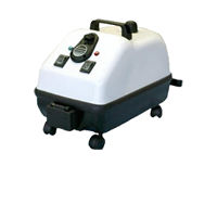 cleanse built up food deposits or embedded particles from kitchen equipment, using steam vacuum cleaners