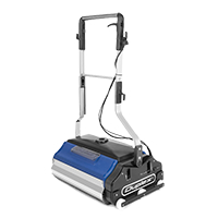 steam cleaning machine vacuums, removes grime and soiling from escalators- perfect for professional cleaning contractors with high workloads