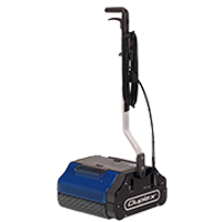 industrial duty floor cleaning machine, runs on steam with inbuilt vacuum