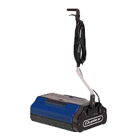 industrial grade steam powered floor vacuum cleaner, made for cleaning high-traffic areas and reducing job time