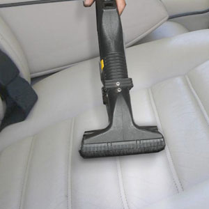 leather surface cleaning with dry steam vapour retains suppleness and appearance. It penetrates the pores to remove inground dirt and does not harm leathers