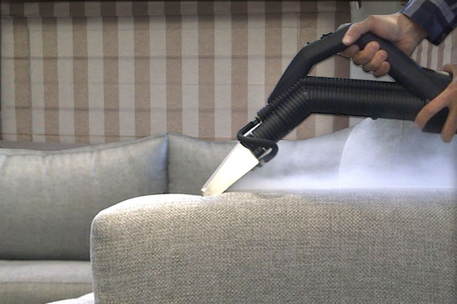 caravan and campground upholstery steam cleaning