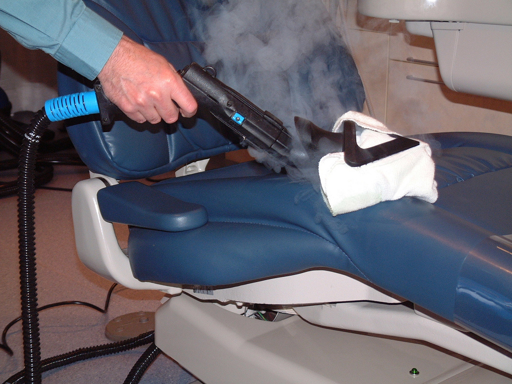 Dental Chair Cleaning