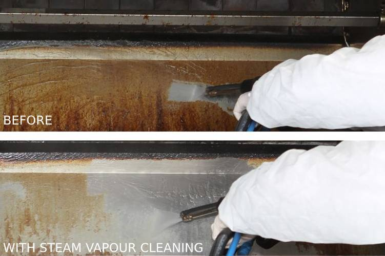 Deep cleaning to remove oil grease and hard stains