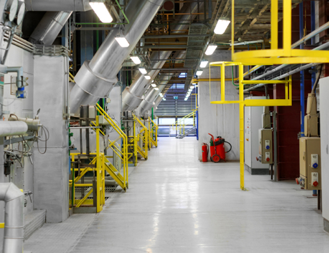 clean hard surfaced floors with our range of commercial and industrial cleaning equipment