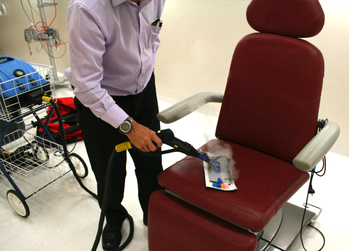 upholstery cleaning equipment for hospital use