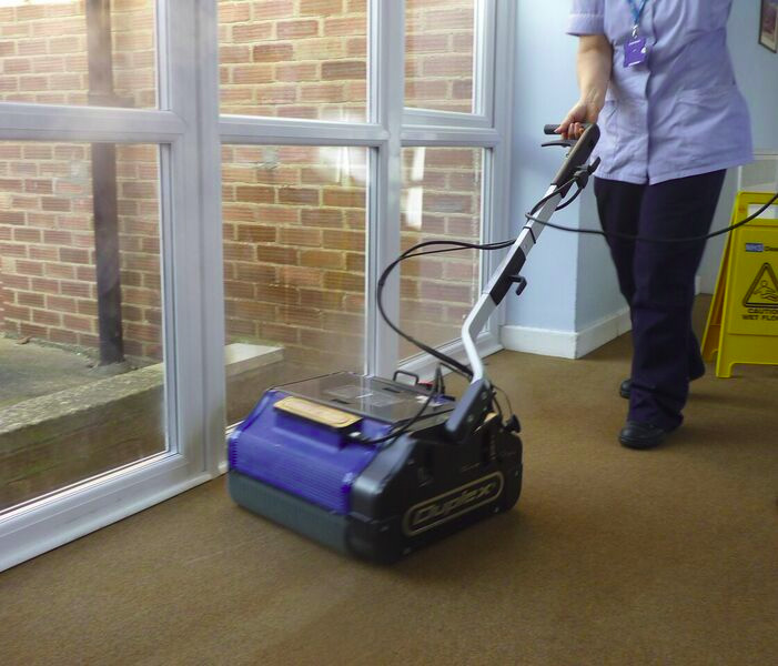 Carpet and floor cleaning in function centres