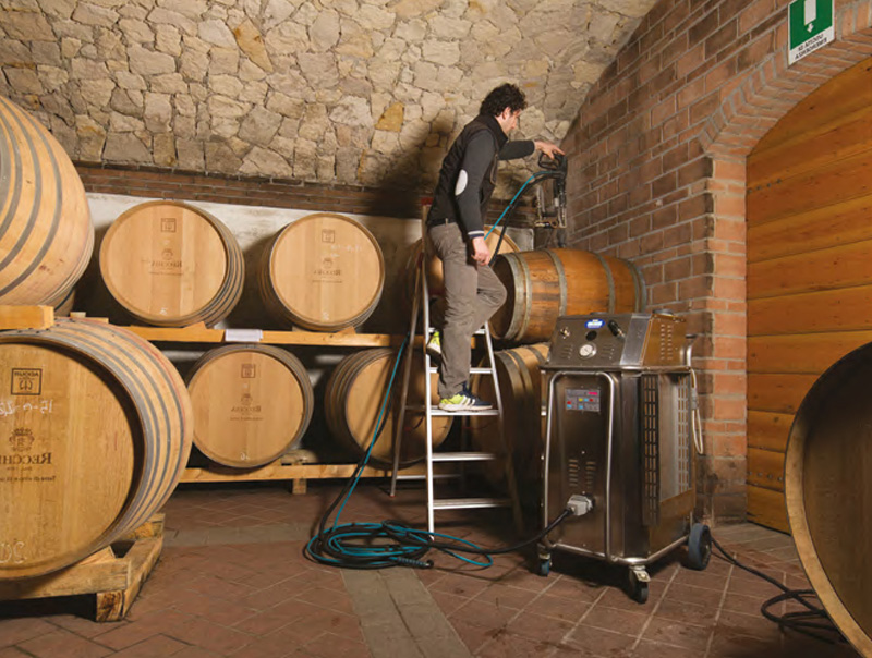 Winery Industry Cleaning Business