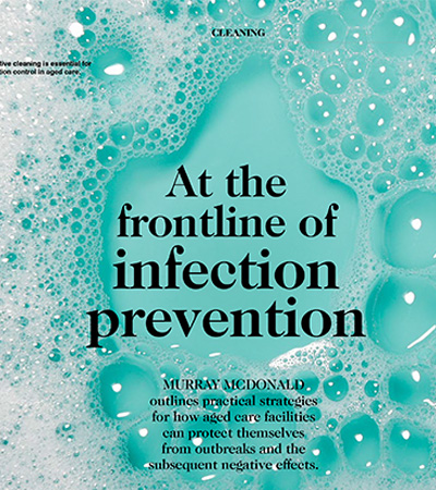 At The Frontline of Infection Prevention