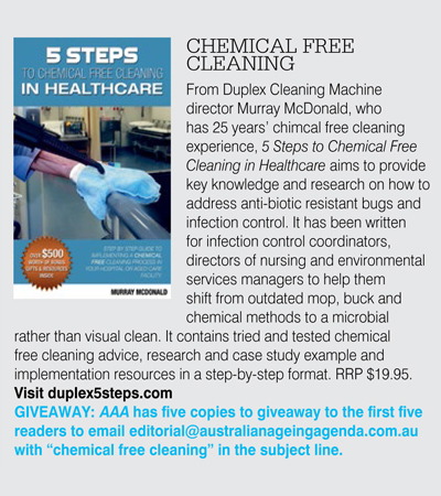 duplex cleaning is mentioined within an article published by the australian ageing agenda, in March 2015