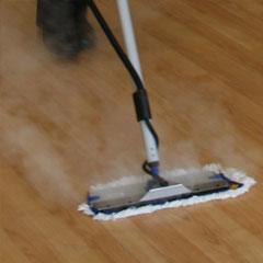 Mini mop head 40cm in action 2