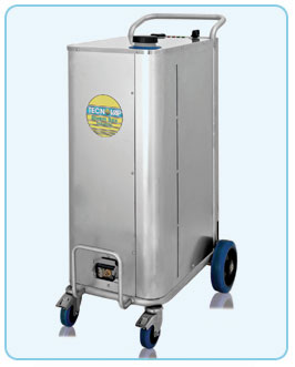 high pwered, superheated dry steam commercial cleaning machinery, for use within the wine industry